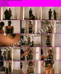 BreastBondageVideos.com [06.25.2009] Leather and Saran Wrap Thumbnail